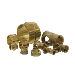 Brass Fittings and Plastic Connectors